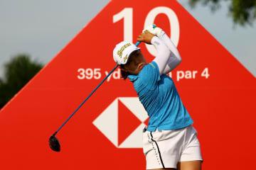 畑岡が50位、渋野は68位 米女子ゴルフ、HSBC第3日 画像1