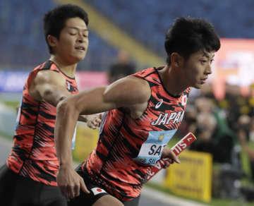 日本、リレー2種目で五輪枠確実 陸上世界大会で決勝進出 画像1