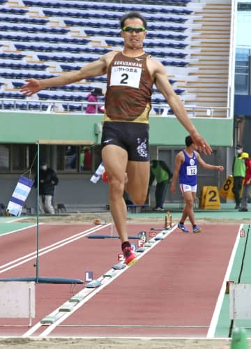 男子十種競技、奥田が前半で首位 陸上の鹿児島県記録会 画像1