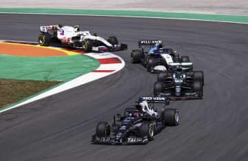 F1、角田裕毅は15位 ポルトガルGP決勝 画像1