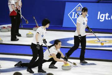 カーリング女子、日本は2勝2敗 世界選手権 画像1