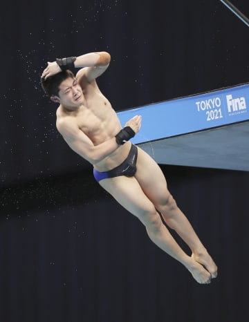 飛び込み、14歳玉井が五輪へ 榎本、西田も代表入り 画像1