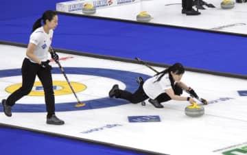カーリング女子、日本は2勝3敗 世界選手権 画像1