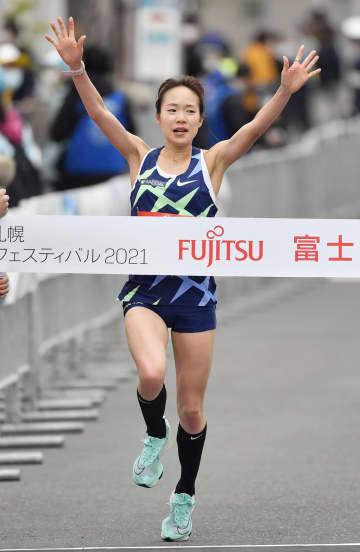 五輪マラソン、札幌でテスト大会 ハーフ、女子は一山がV 画像1