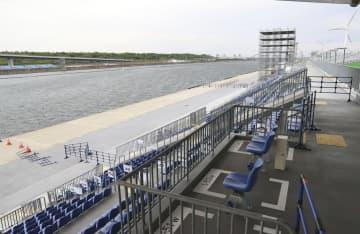 ボート五輪予選、2日間に短縮 強風のため6、7日で実施 画像1