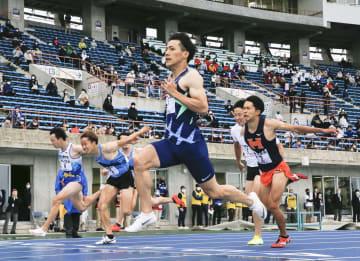 山県亮太が10秒71で優勝 水戸招待陸上の100メートル 画像1