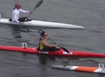カヌー、小野祐佳が初の五輪代表 アジア予選、カヤック単200m 画像1