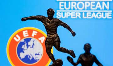 欧州CL出場停止の厳罰も UEFA、スーパーリーグ構想で 画像1