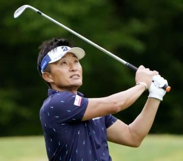 ゴルフ、48歳の宮本勝昌が首位 プレーヤーズチャンピオンシップ 画像1