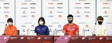 陸上新谷仁美「日本記録を意識」 五輪テスト大会へ意気込み 画像1