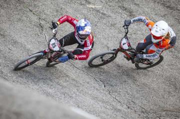 畠山が3位、日本勢初の表彰台 自転車BMXレースW杯 画像1