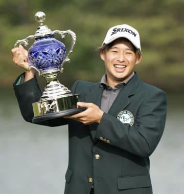 23歳の片岡尚之、逆転で初優勝 男子ゴルフ最終日 画像1