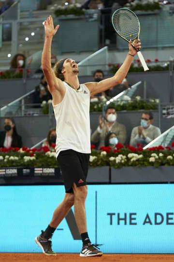 男子テニス、A・ズベレフが優勝 マドリード・オープン 画像1