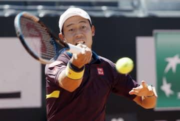 錦織圭が2回戦進出、全仏前哨戦 テニス、イタリア国際 画像1
