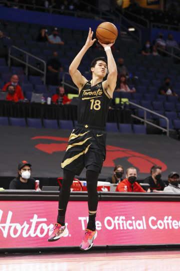 ラプターズの渡辺雄太は8得点 NBA、試合は敗戦 画像1
