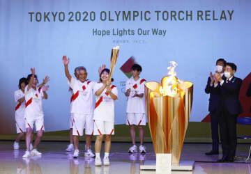 九州の聖火リレー、最終日迎える コロナ禍、希望の光に 画像1