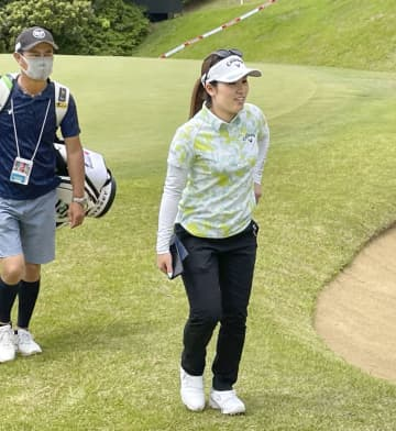 ゴルフ、西村「上位争いしたい」 14日から女子ほけんの窓口 画像1