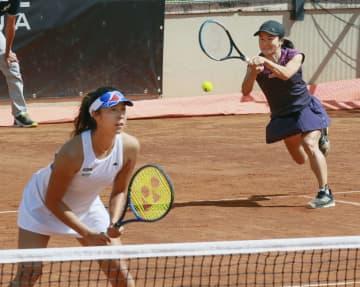 テニス、青山・柴原組が4強 イタリア国際 画像1