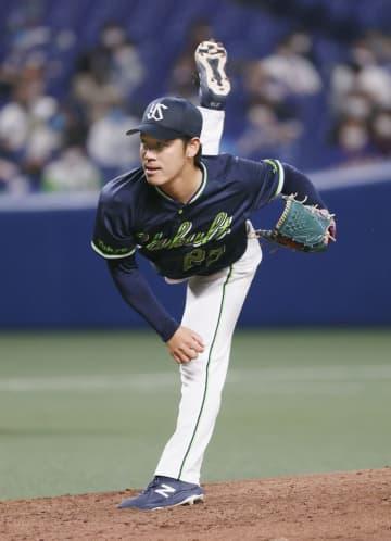 中0―5ヤ(15日) 小川が今季初完封 画像1
