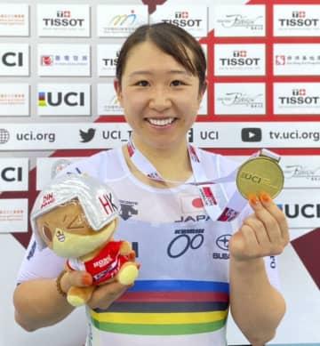 自転車、五輪代表の梶原が優勝 ケイリン脇本は2位 画像1