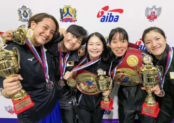 五輪代表の並木、入江ら優勝 ボクシング国際大会 画像1