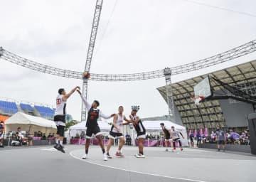 バスケ3人制、五輪テスト大会 小松昌弘ら参加、雨で決勝中止 画像1