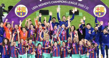 欧州CL、バルセロナが初優勝 サッカー女子、チェルシー下す 画像1
