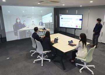 離れてもつながるオフィス JR東日本が実証実験 画像1