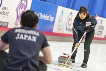 カーリング、日本は黒星スタート 混合世界選手権 画像1