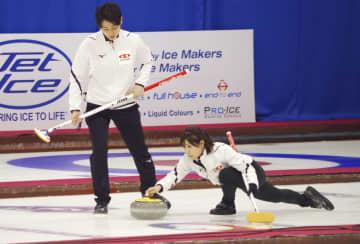 カーリング、日本は1勝2敗に 混合ダブルス世界選手権 画像1