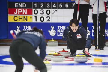 カーリング、日本は3勝2敗 混合世界選手権 画像1