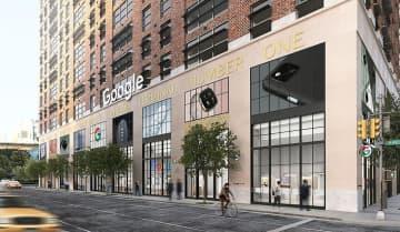 グーグル、NYに実店舗 世界初、今夏オープン 画像1