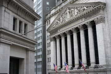 NY株反発、188ドル高 米景気に期待、金利低下 画像1