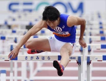 泉谷が110メートル障害優勝 関東学生対校陸上 画像1