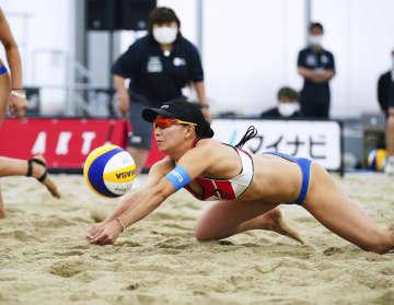 ビーチ、鈴木坂口組など準決勝へ 女子の五輪代表決定戦 画像1