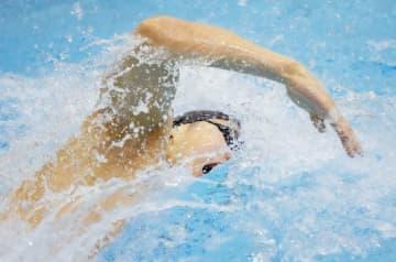 競泳、松元が自己記録へ0秒10 池江は100m背泳ぎで1位 画像1