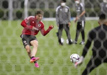 日本代表、ミャンマー戦へ合宿 サッカーW杯アジア2次予選 画像1
