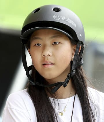 スケボーの開、最年少で五輪へ 12歳、東京大会出場確実に 画像1