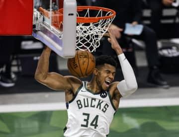 NBA、バックスが2連勝 プレーオフ1回戦 画像1