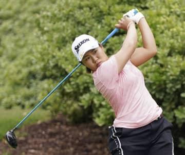 米女子ゴルフ、畑岡奈紗が勝利 マッチプレー、上原は分け 画像1