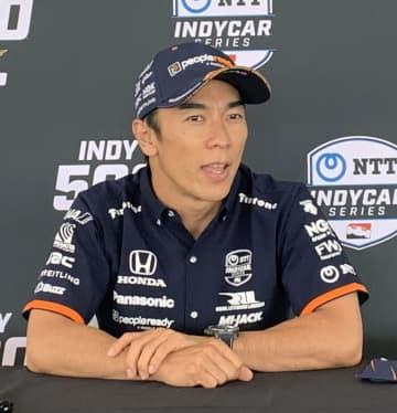 佐藤、予選15位から挽回に意欲 自動車レース、インディ500で 画像1