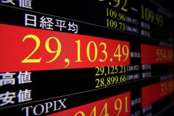 東証、午前終値は2万9111円 急反発、米経済に期待 画像1