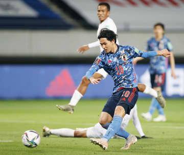 日本、ミャンマーに大勝 W杯最終予選に進出決定 画像1