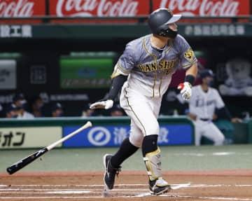 西7―10神(28日) 佐藤輝が3本塁打 画像1