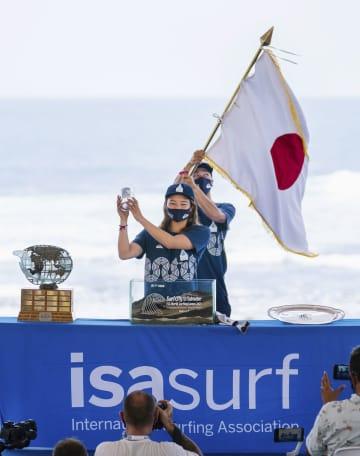 サーフィン大原「ベスト尽くす」 五輪予選 画像1