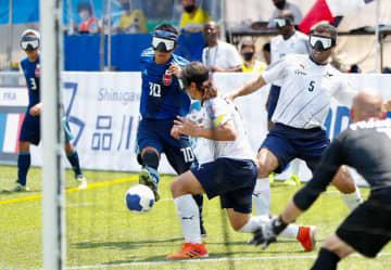 日本、初戦で仏に勝利 パラ5人制サッカー国際大会 画像1