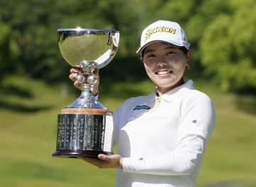 勝みなみが2年ぶり優勝 女子ゴルフ最終日 画像1