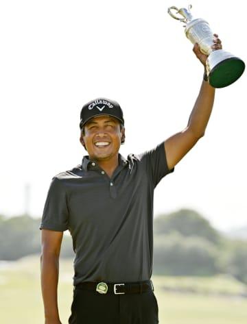 フィリピンのパグンサン初優勝 男子ゴルフ最終日 画像1