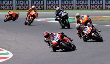 イタリアGP、中上貴晶リタイア オートバイ世界選手権 画像1