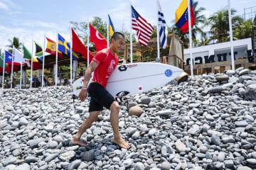 サーフィン、日本勢が2回戦へ 五輪予選のワールドゲームズ 画像1